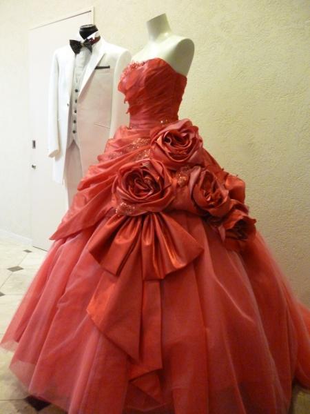 ガーネットと名づけたドレス