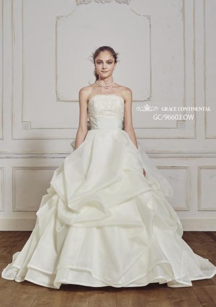 グレース コンチネンタル[GRACE CONTINENTAL]人気アパレルブランドのウェディングドレスが入荷!