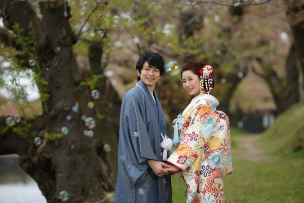 花嫁和装 着るワケ 紋付羽織袴 新郎
