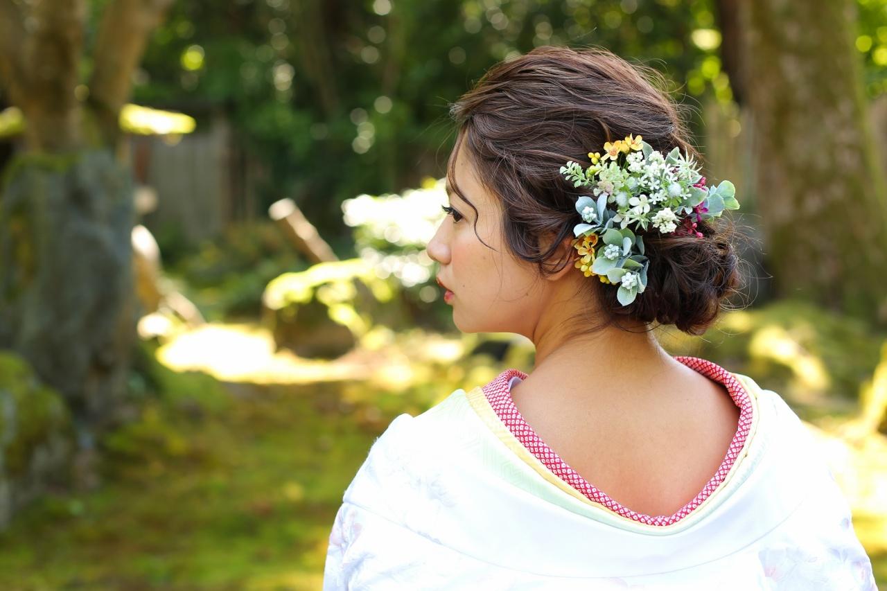 和装とヘアスタイルのバランスって難しい。ゆるふわ、レトロ、ウエーブ…衣裳とヘアのバランスを知ってとびっきり素敵な花嫁になろう♥