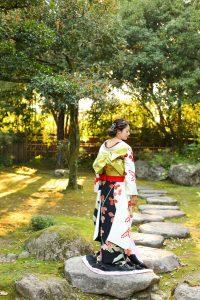 お引きずり姿 うしろ姿 帯結び 花嫁 bride kimono