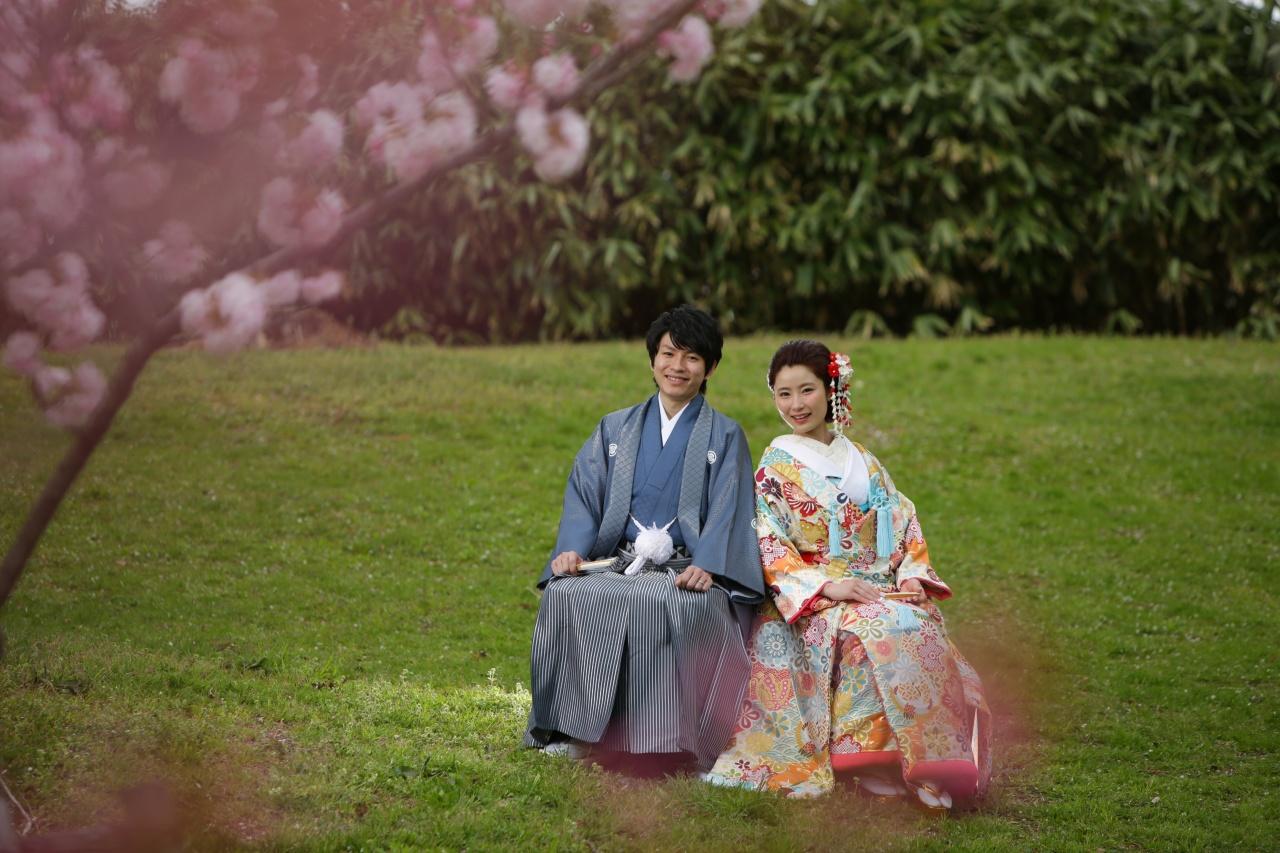 春に着たい花嫁着物まとめ♡ 桜の季節や新緑ロケーションにぴったりの和装をご紹介