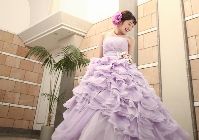 季節感のあるドレスを着よう!春に着たいおすすめカラードレス♡