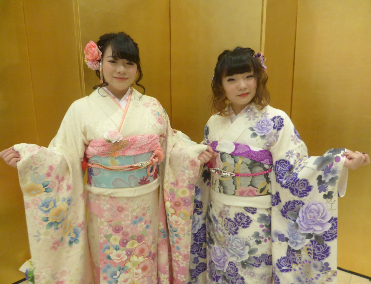 祝♡成人式!鶴岡市で行われた成人式、華やかな振袖スナップ♪