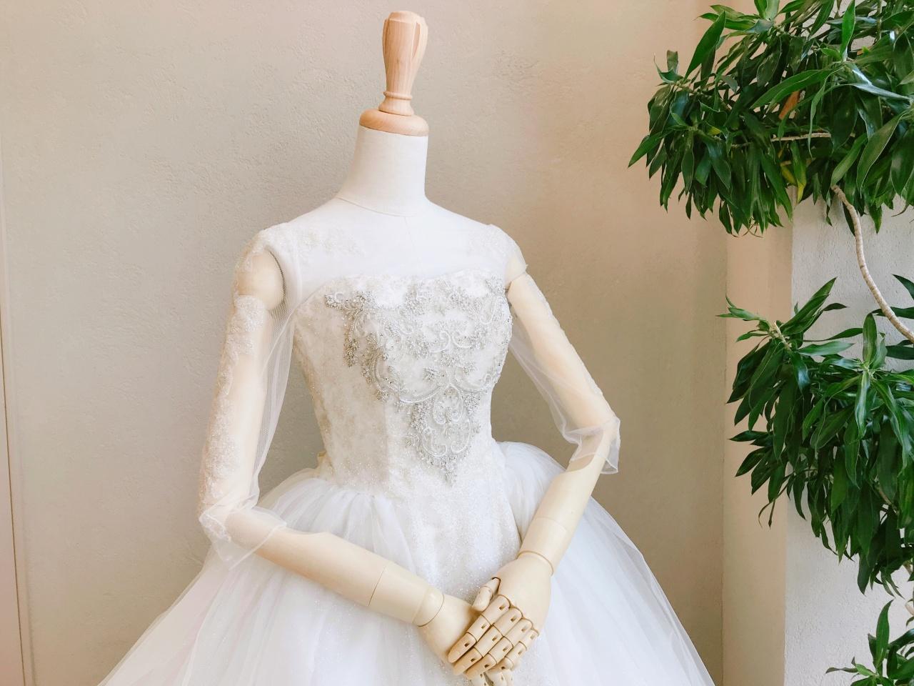 新作登場♡まるで魔法をかけられたような光り輝くプリンセスドレス