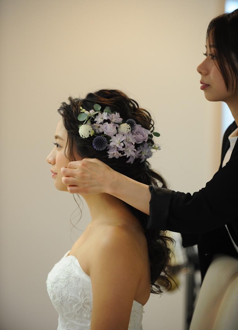 どんなヘッドドレスが好み?卒花から学ぶオシャレなヘッドドレスの選び方♡