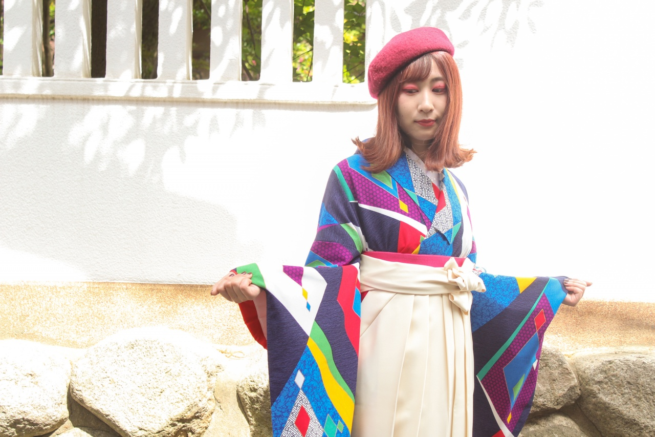 卒業式の袴もう決めた?ファッションを学ぶ学生さんが選んだリアルコーディネイト♪