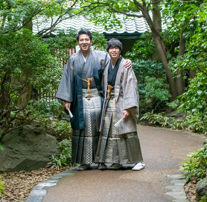 男の子だって和装を着たい!!成人式の「晴れ姿」紋付袴♫